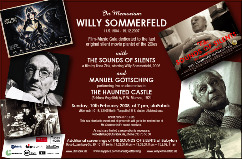In memoriam Willy Sommerfeld